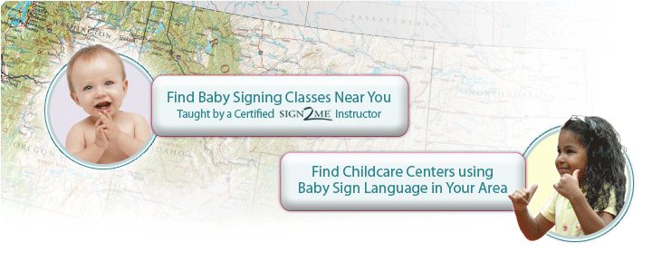 Find signing classes and Signing childcare centers in your area